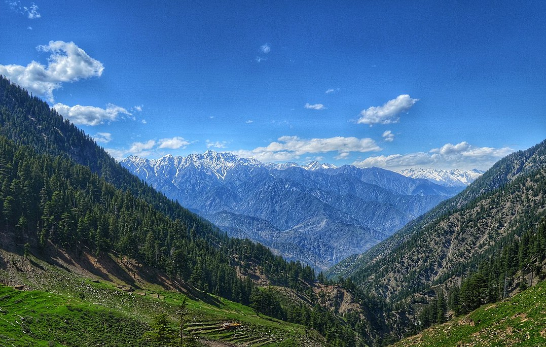 Mountains of the Chitral Valley in the Hindu Kush